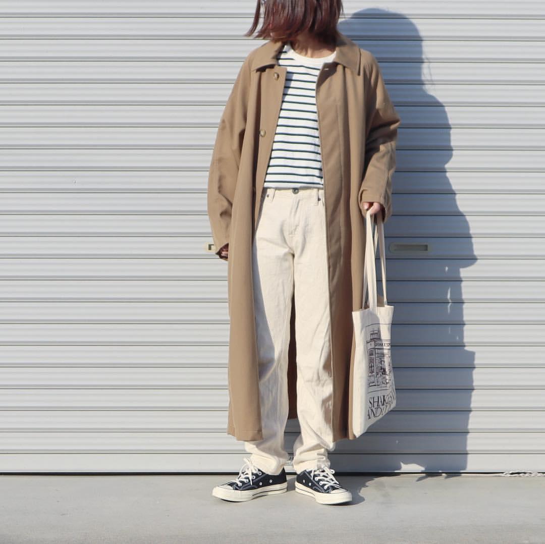 最高気温19度・最低気温6度 tmy___3の服装