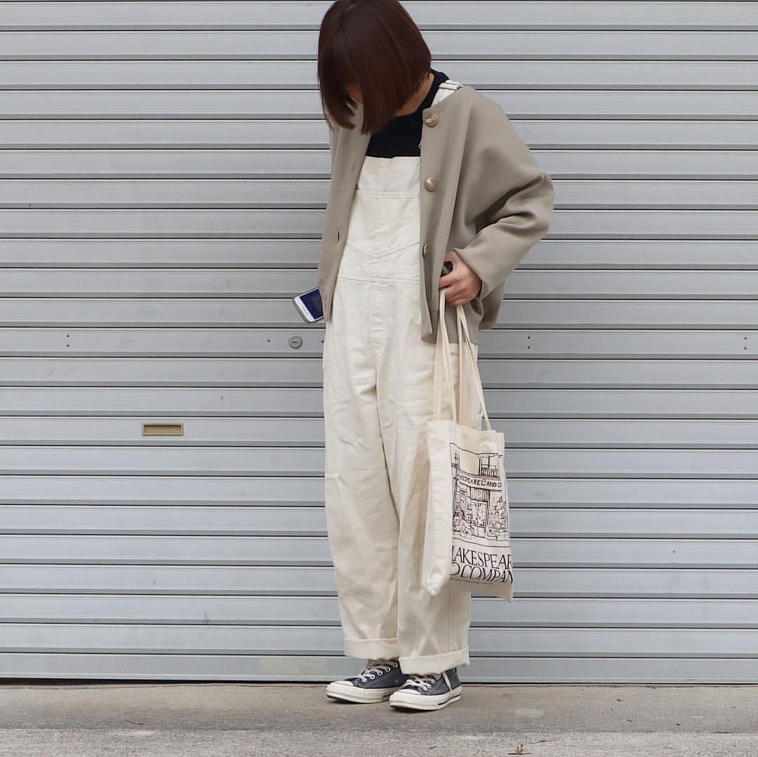 最高気温21度・最低気温8度 tmy___3の服装