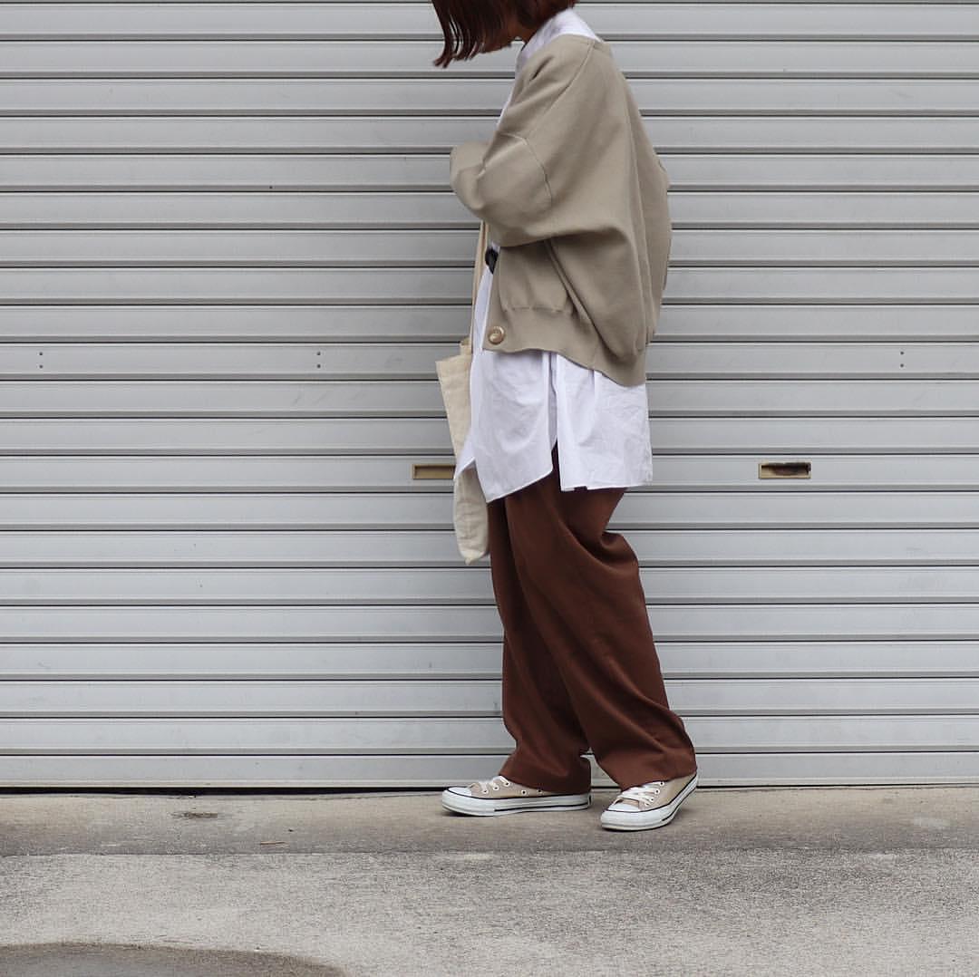最高気温13度・最低気温8度 tmy___3の服装