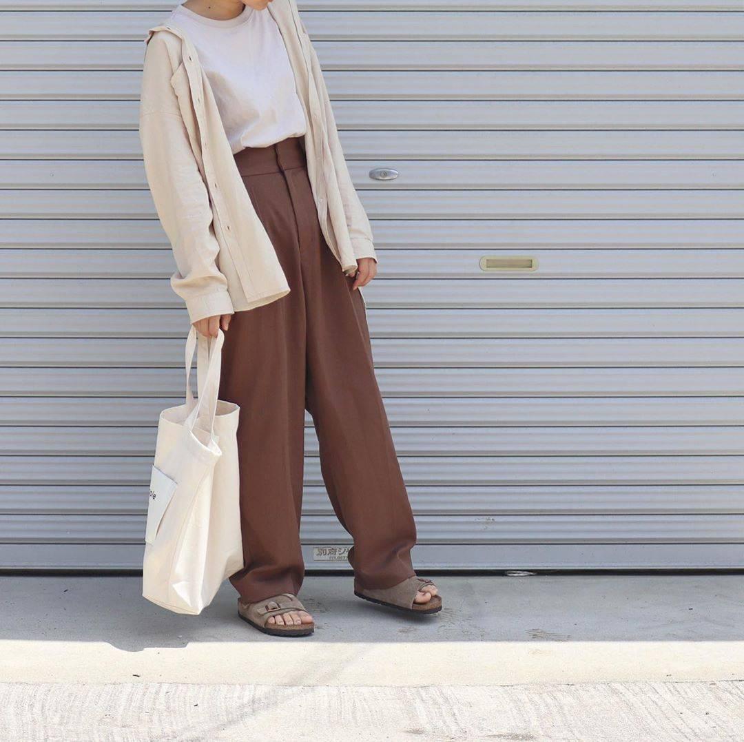 最高気温27度・最低気温20度 tmy___3の服装
