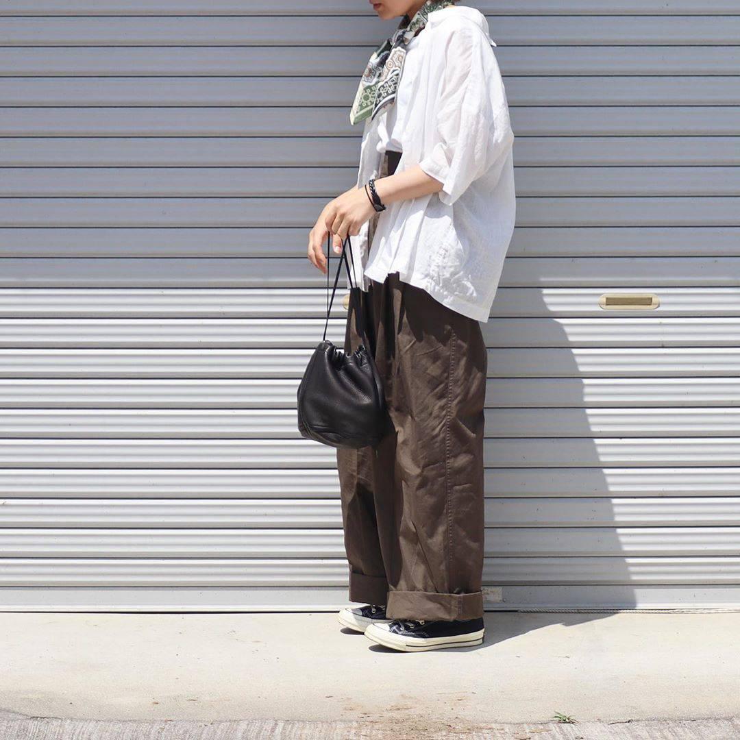 最高気温35度・最低気温27度 tmy___3の服装