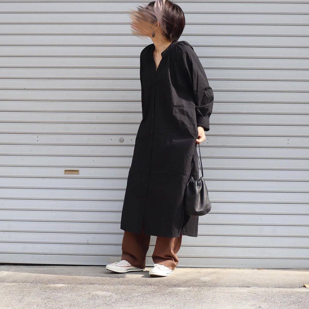 最高気温27度・最低気温17度 tmy___3の服装