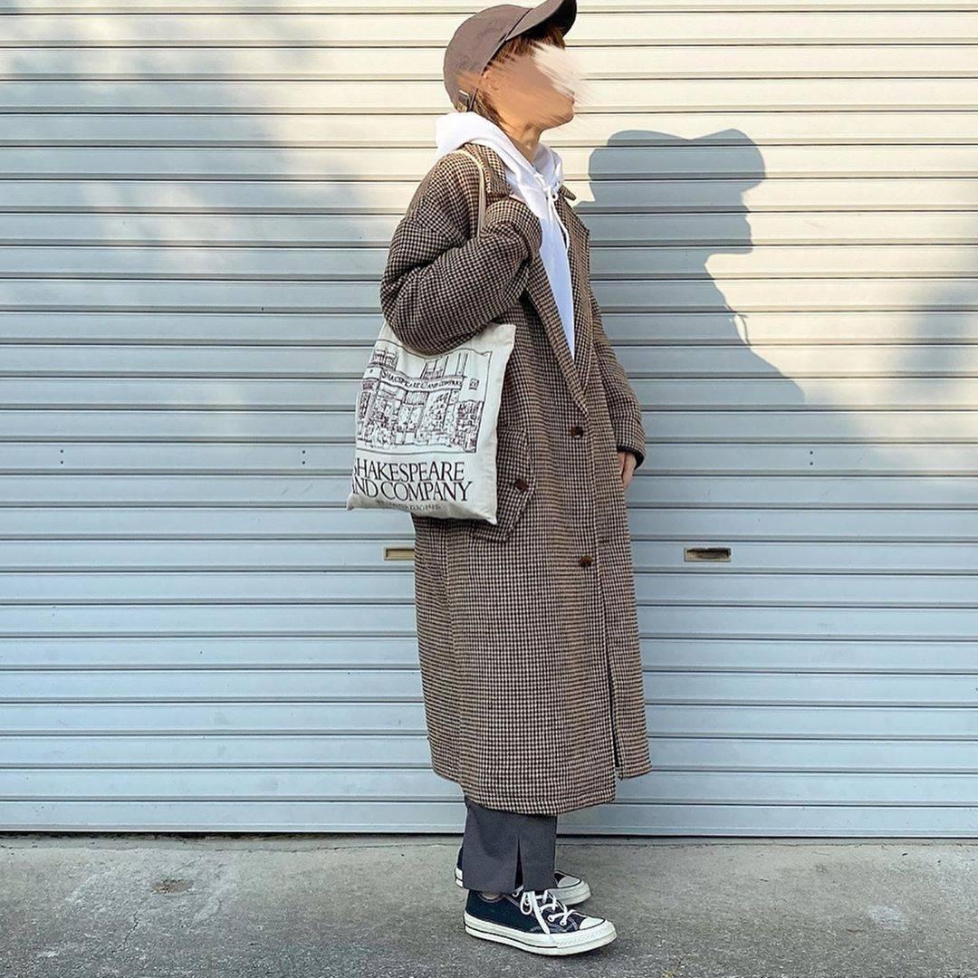 最高気温21度・最低気温15度 tmy___3の服装