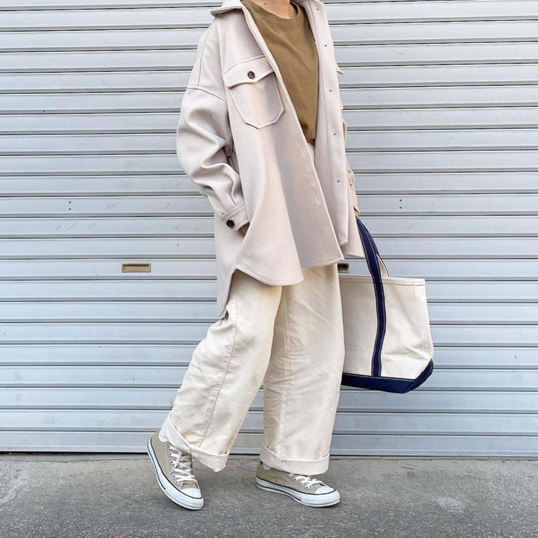 最高気温17度・最低気温11度 tmy___3の服装