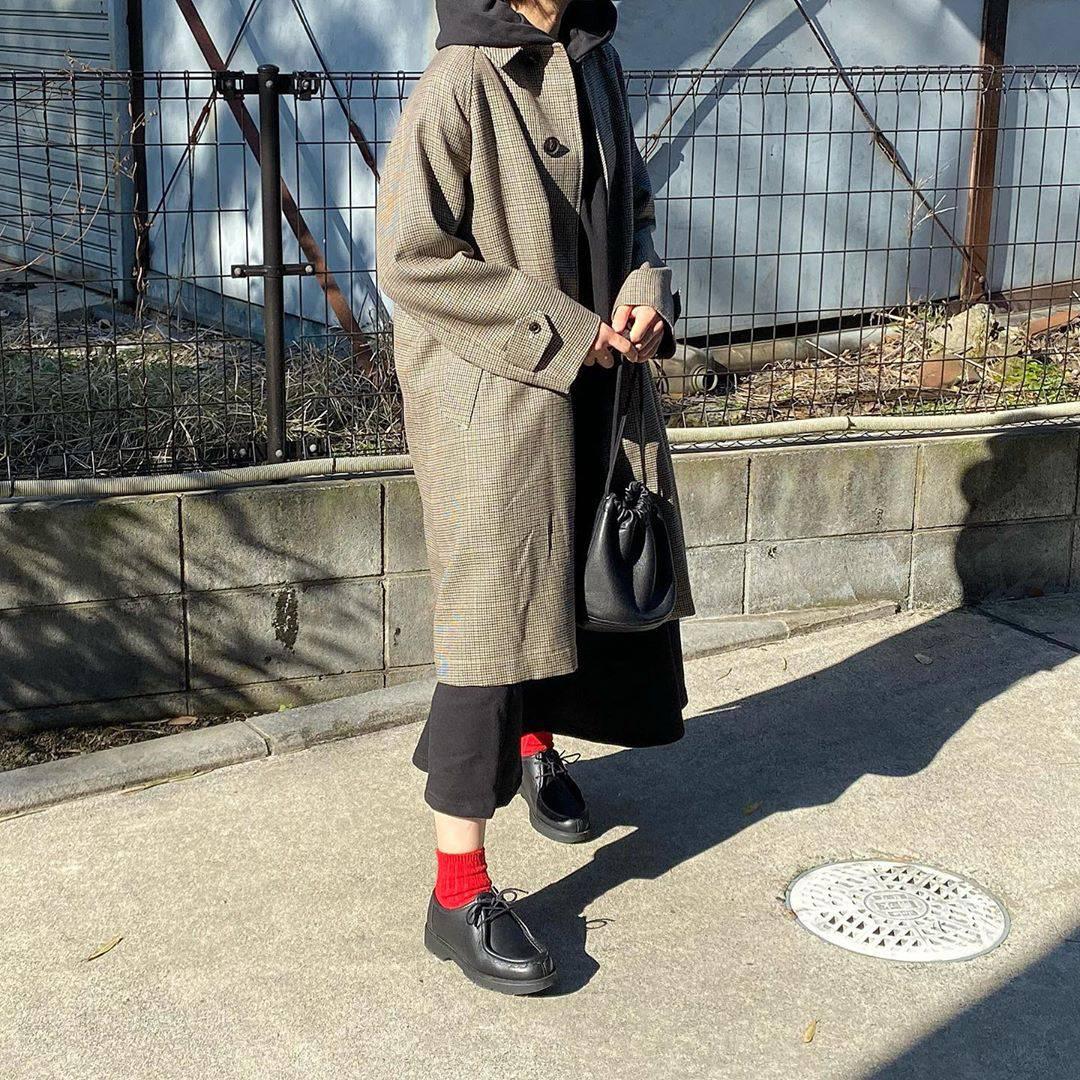 最高気温9度・最低気温6度 tmy___3の服装