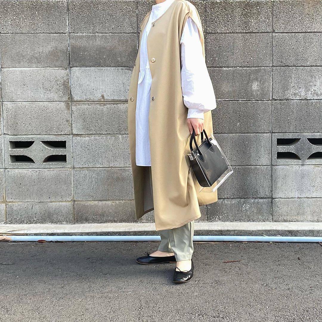最高気温20度・最低気温7度 tmy___3の服装