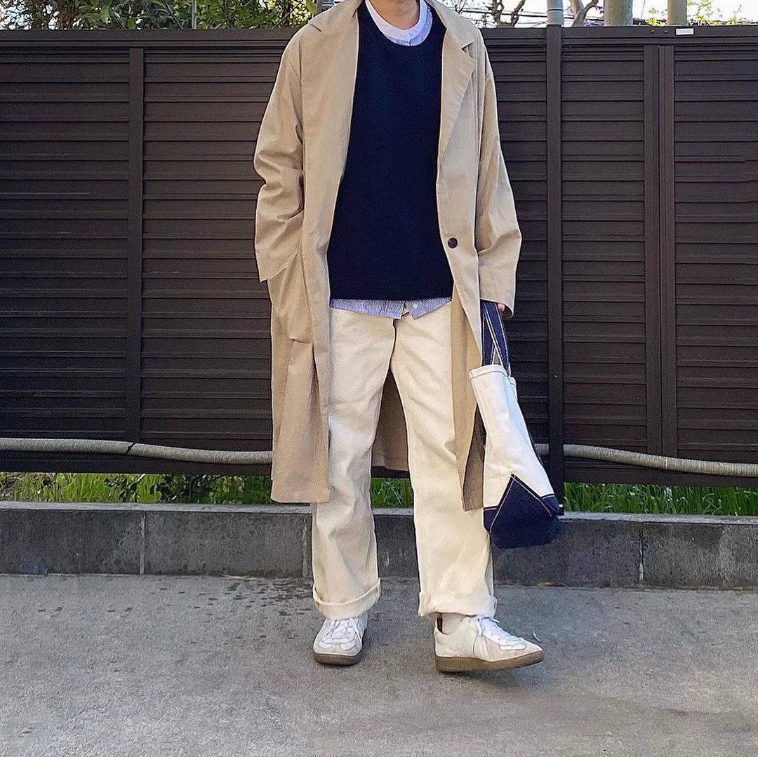 最高気温17度・最低気温7度 tmy___3の服装