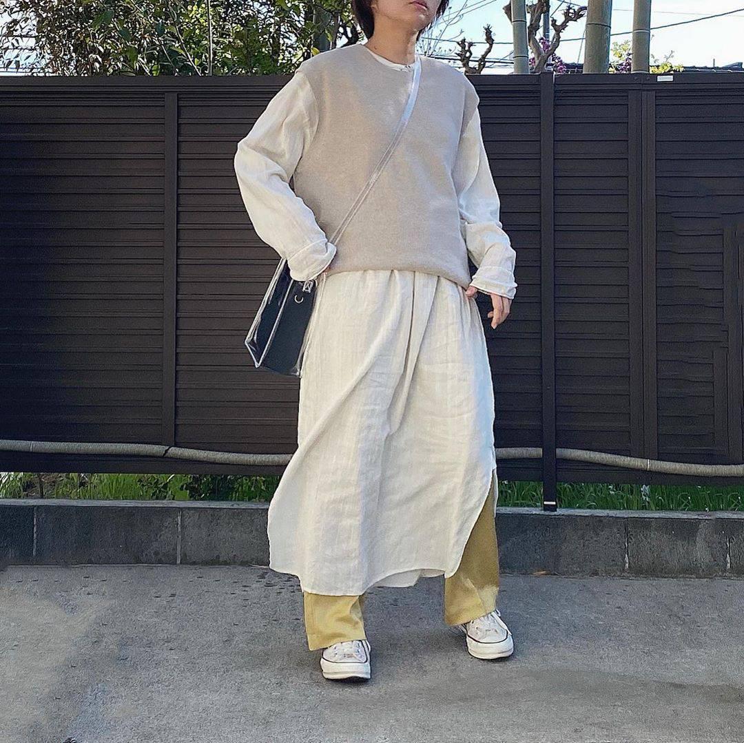 最高気温20度・最低気温5度 tmy___3の服装