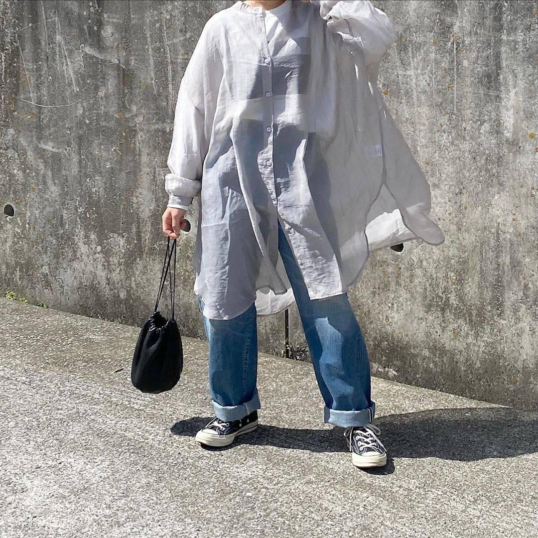 最高気温22度・最低気温9度 tmy___3の服装