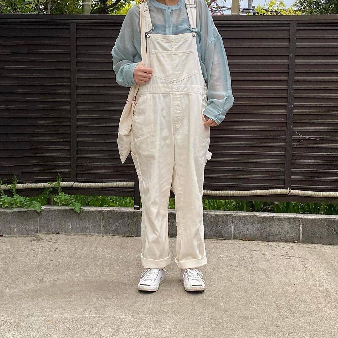 最高気温19度・最低気温8度 tmy___3の服装