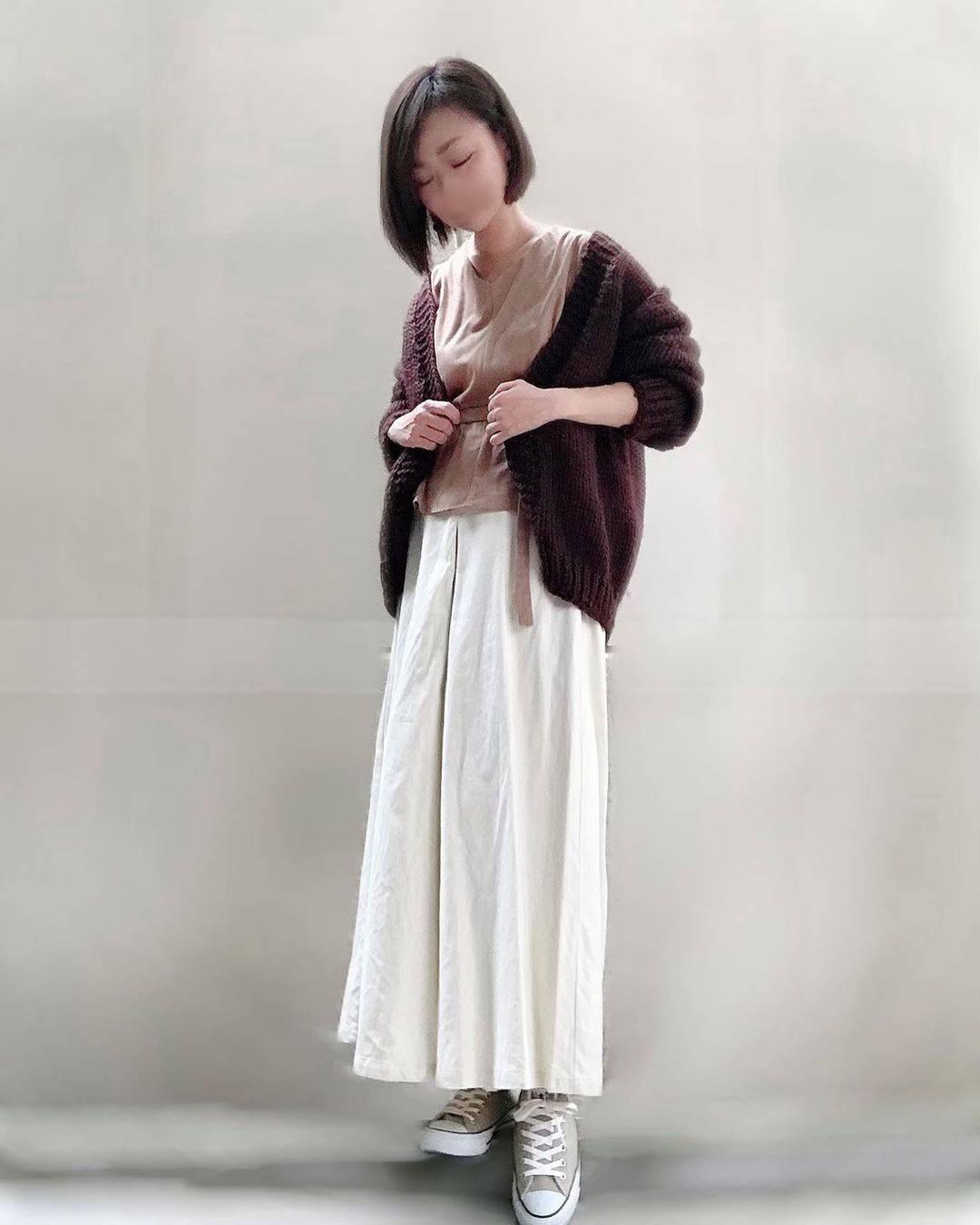 最高気温24度・最低気温19度 unange103の服装