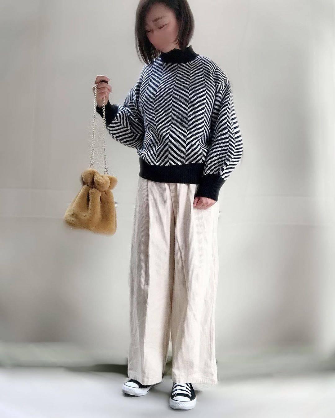 最高気温21度・最低気温15度 unange103の服装