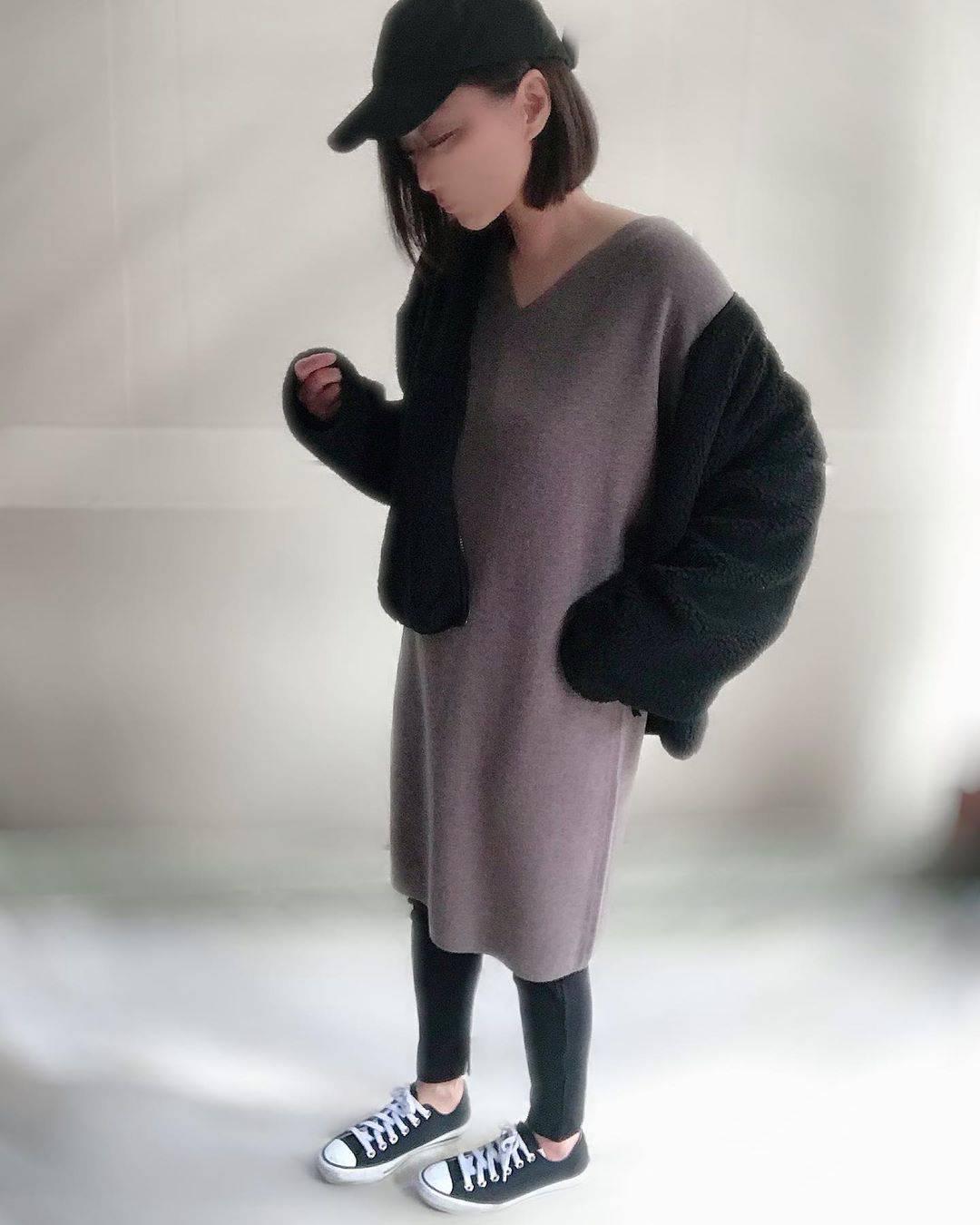 最高気温22度・最低気温14度 unange103の服装