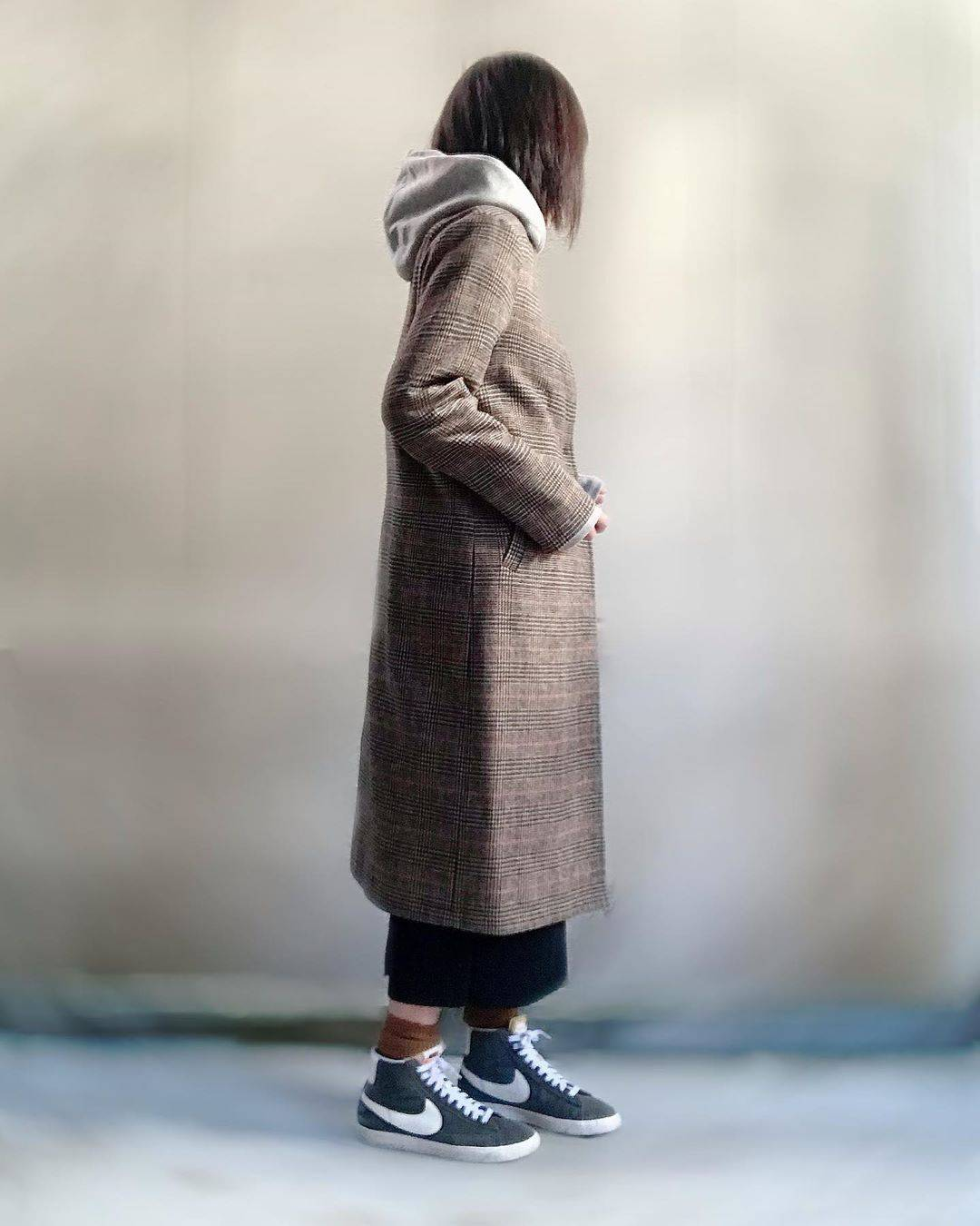最高気温17度・最低気温9度 unange103の服装