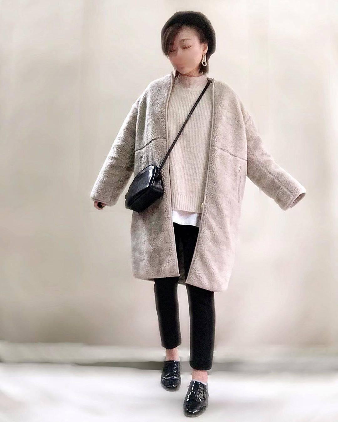 最高気温7度・最低気温4度 unange103の服装