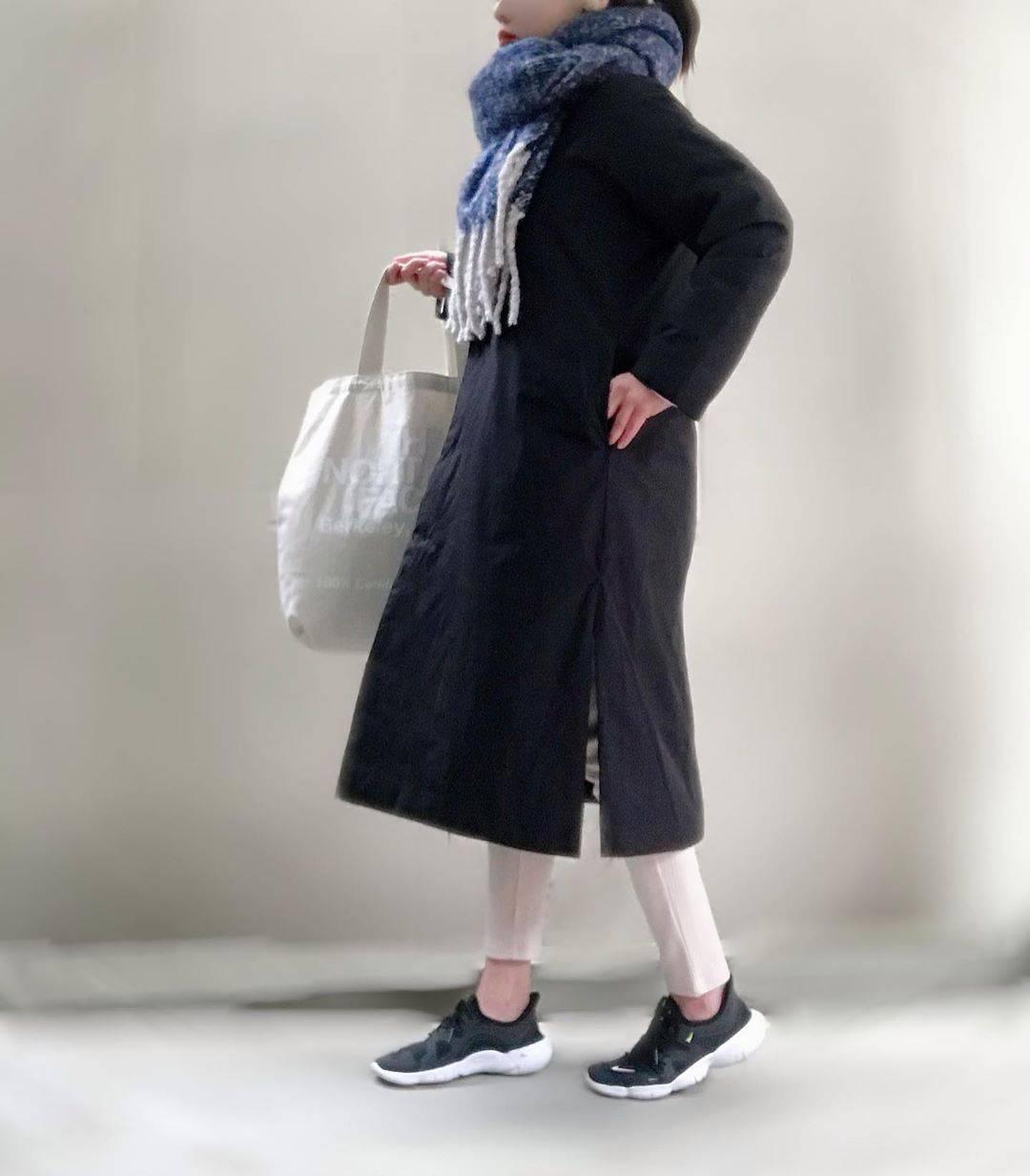 最高気温8度・最低気温5度 unange103の服装