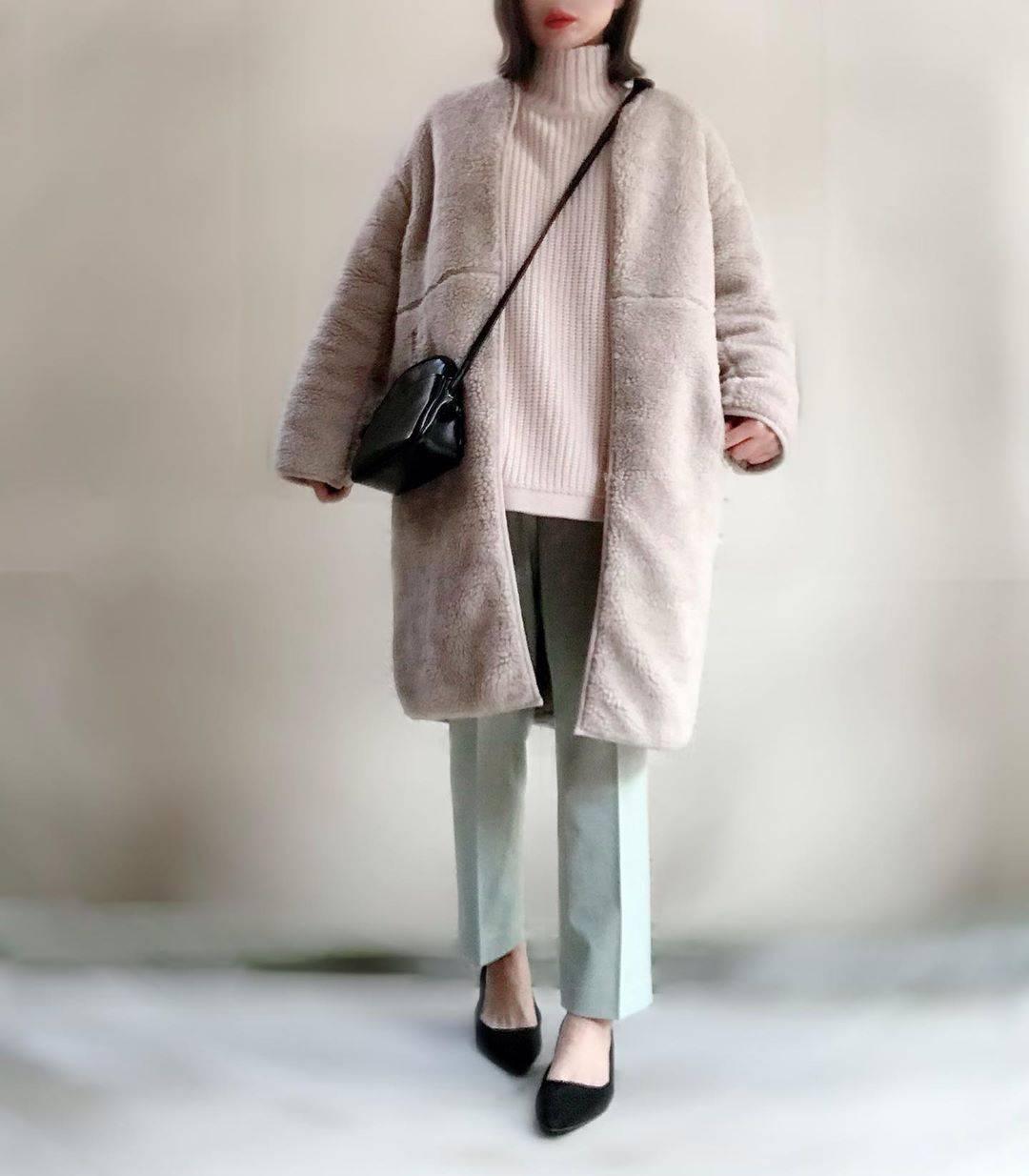 最高気温12度・最低気温1度 unange103の服装