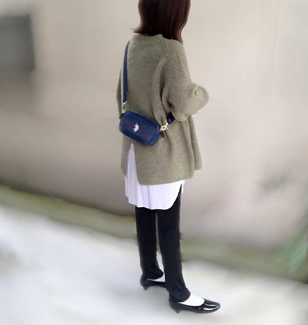 最高気温7度・最低気温2度 unange103の服装