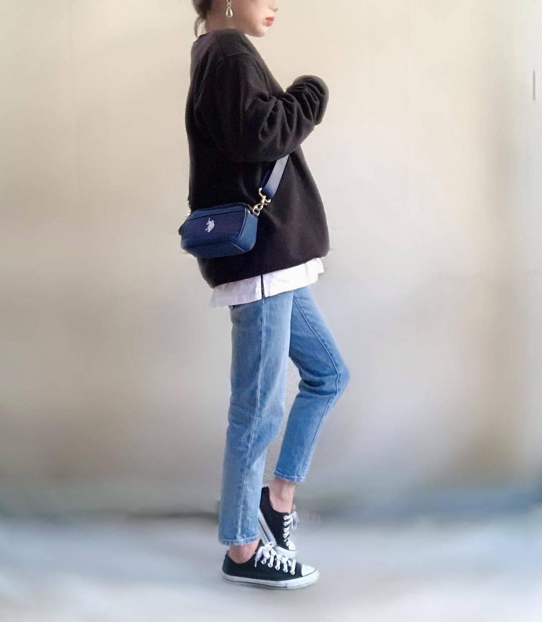 最高気温7度・最低気温0度 unange103の服装
