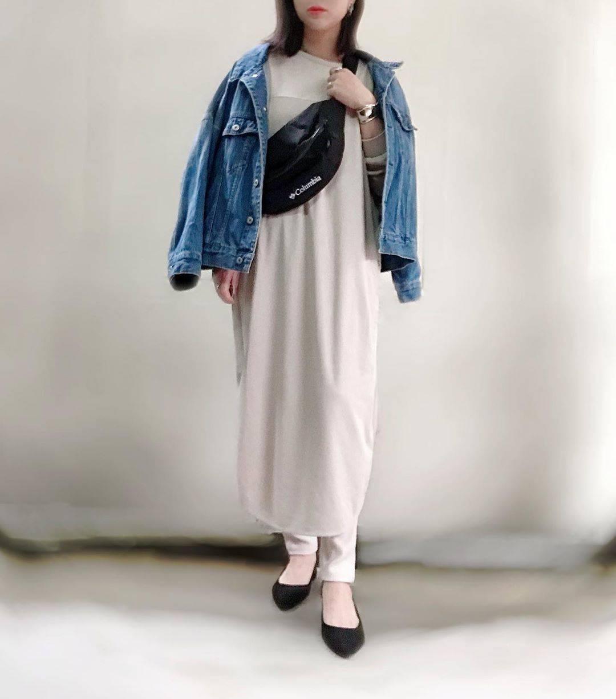 最高気温15度・最低気温4度 unange103の服装