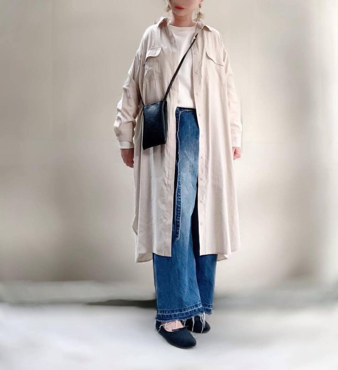 最高気温9度・最低気温7度 unange103の服装