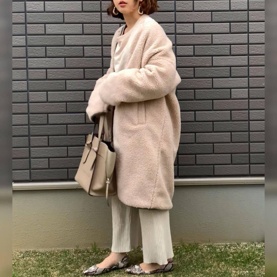 最高気温10度・最低気温2度 waaaaammmの服装