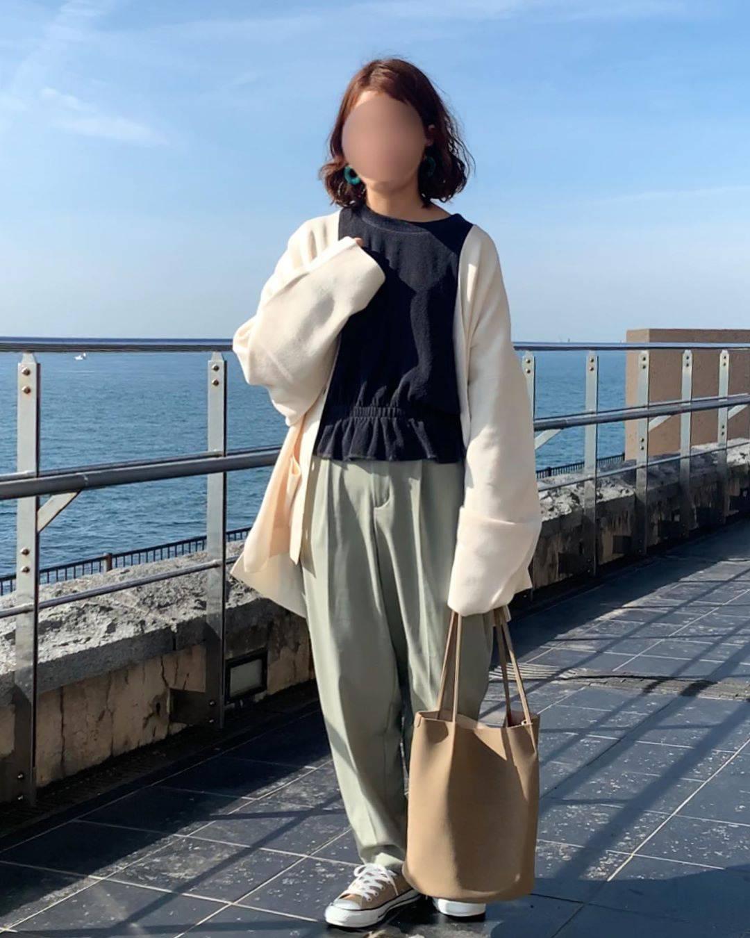 最高気温17度・最低気温6度 waaaaammmの服装