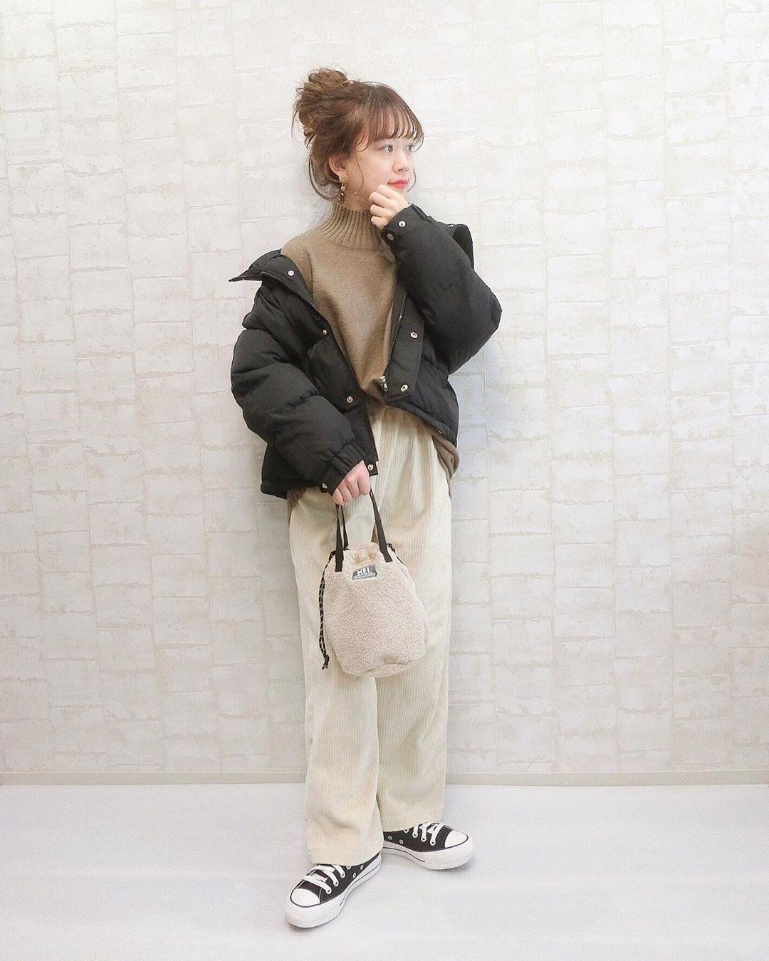 最高気温5度・最低気温0度 wear.chicchimoの服装