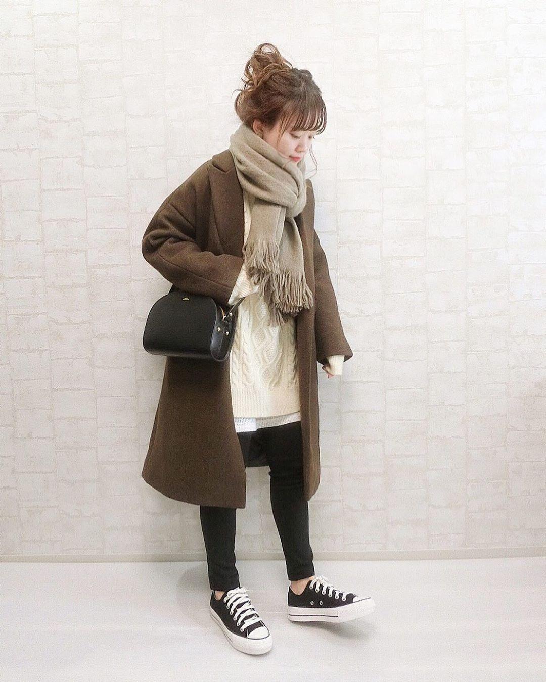 最高気温15度・最低気温5度 wear.chicchimoの服装