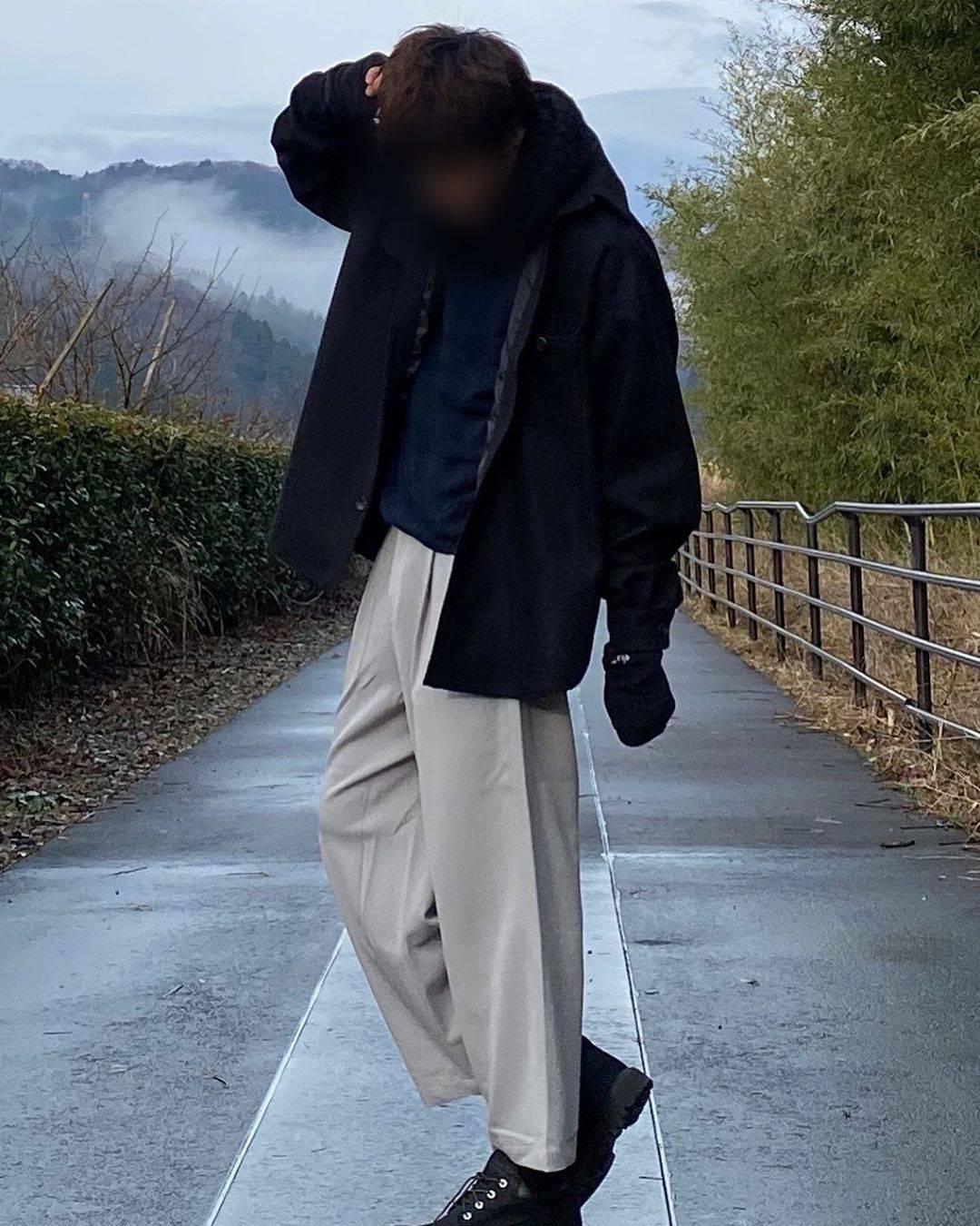 最高気温11度・最低気温1度 yaso_wearの服装