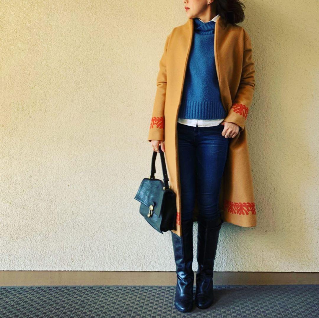 最高気温15度・最低気温5度 yasuyamayasumiの服装