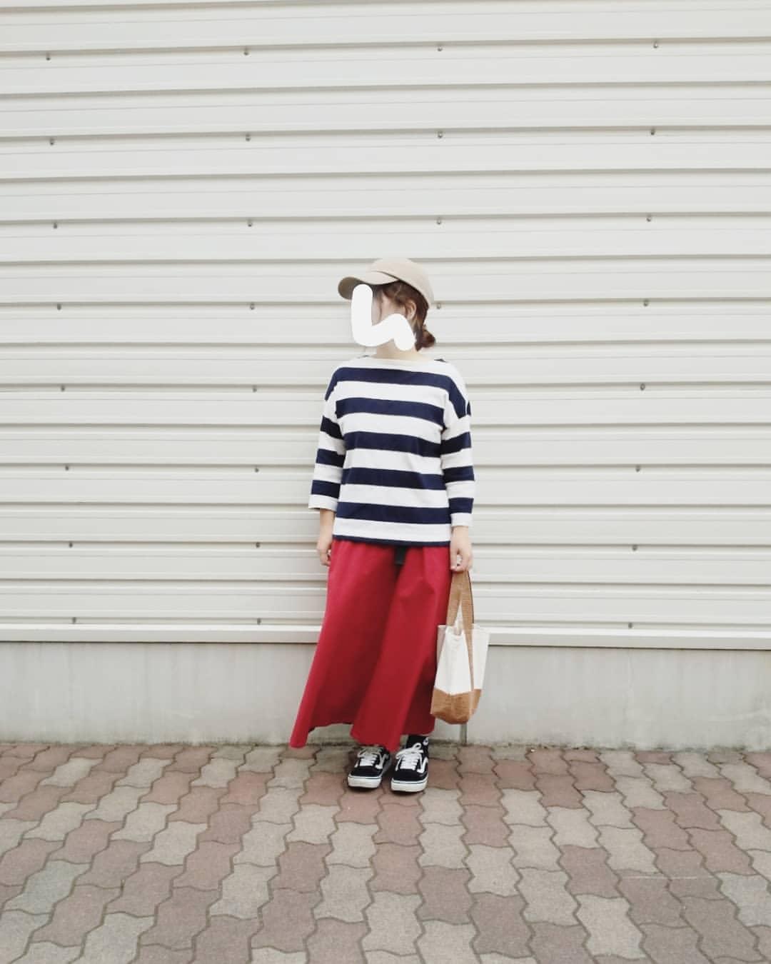最高気温27度・最低気温19度 yoco_145cmの服装