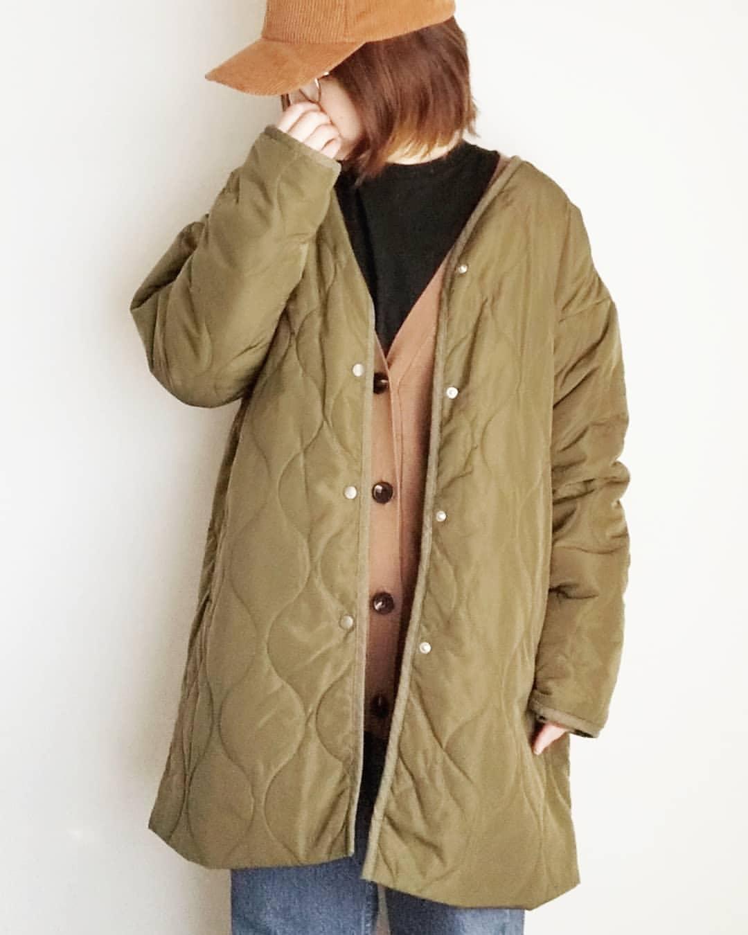 最高気温10度・最低気温6度 yoco_145cmの服装