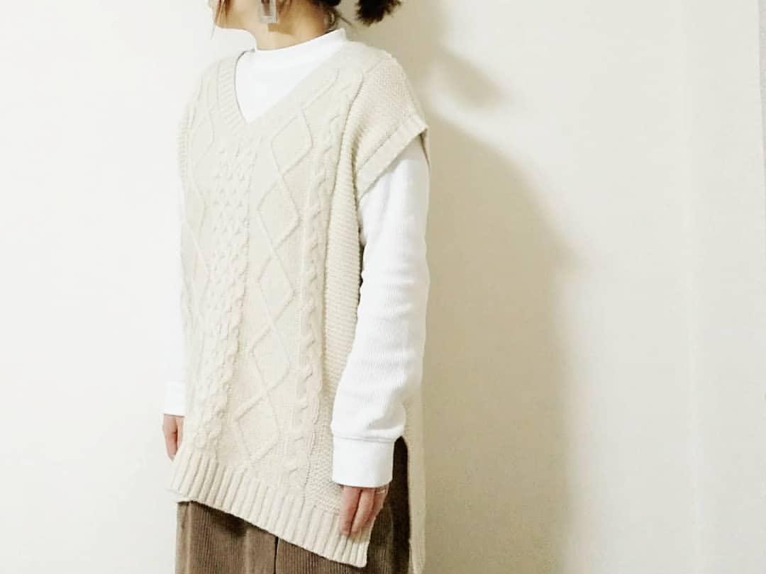 最高気温15度・最低気温8度 yoco_145cmの服装