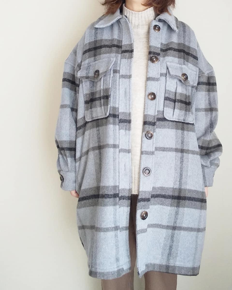 最高気温8度・最低気温3度 yoco_145cmの服装