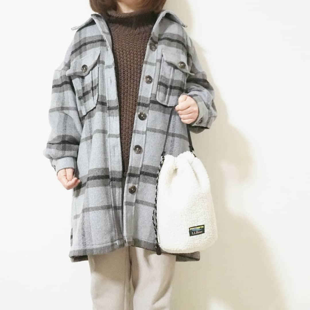 最高気温10度・最低気温2度 yoco_145cmの服装