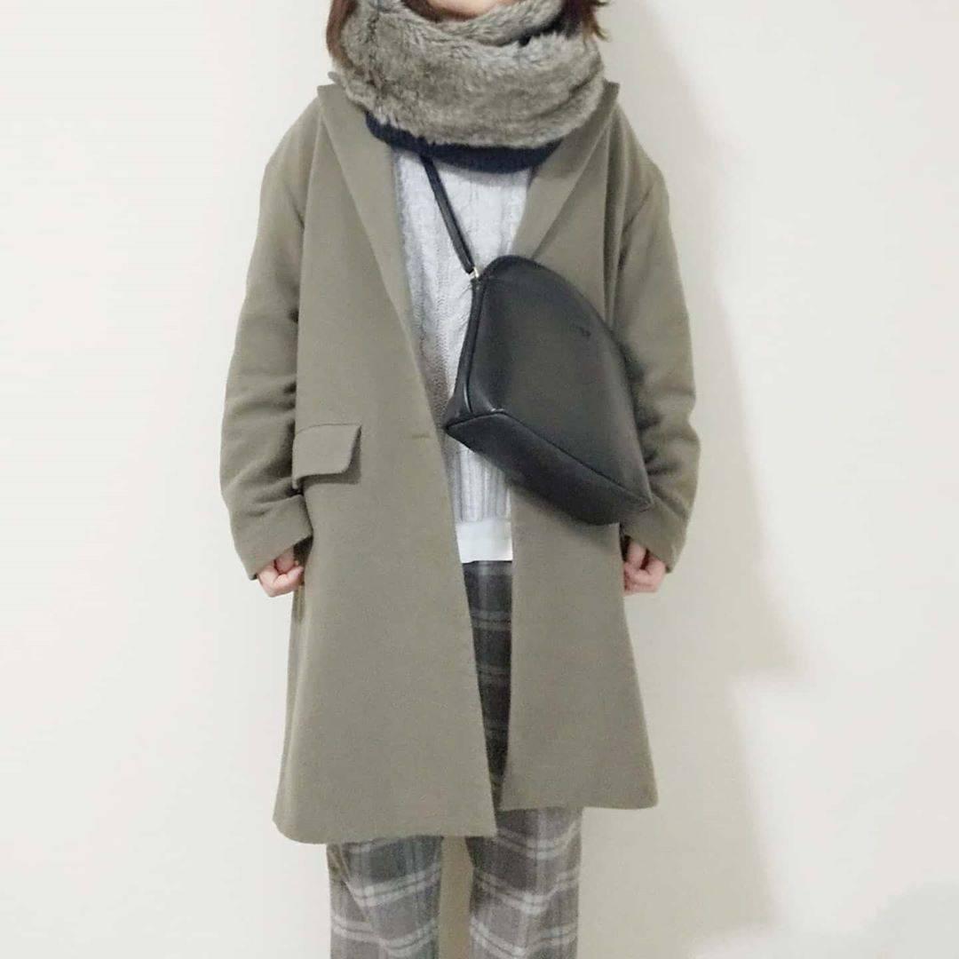 最高気温11度・最低気温3度 yoco_145cmの服装