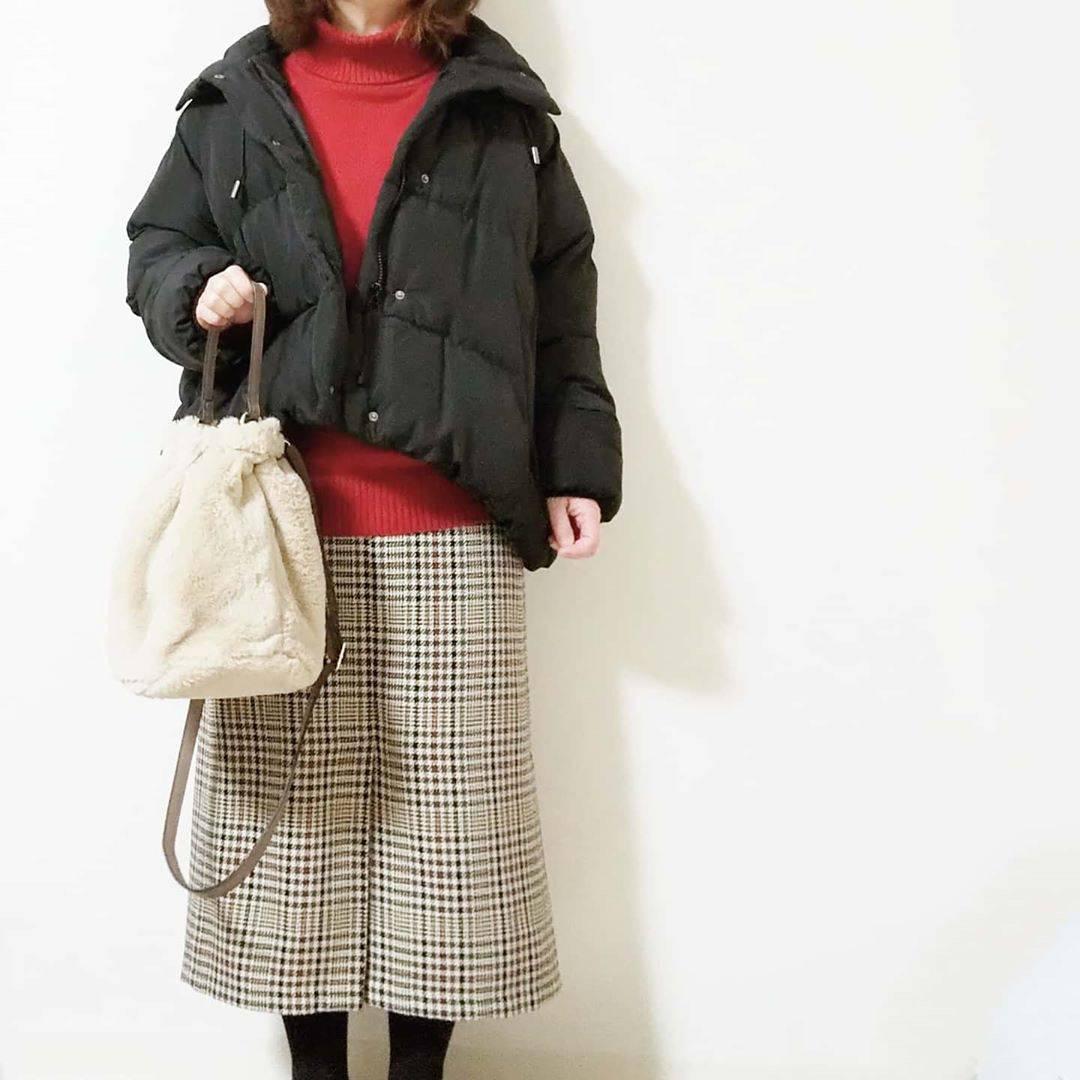 最高気温11度・最低気温1度 yoco_145cmの服装