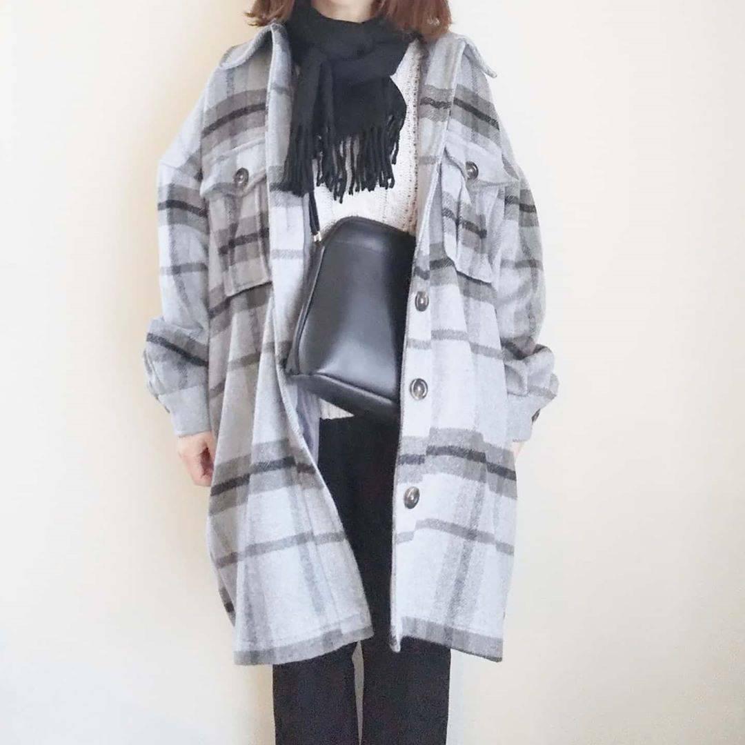 最高気温12度・最低気温3度 yoco_145cmの服装