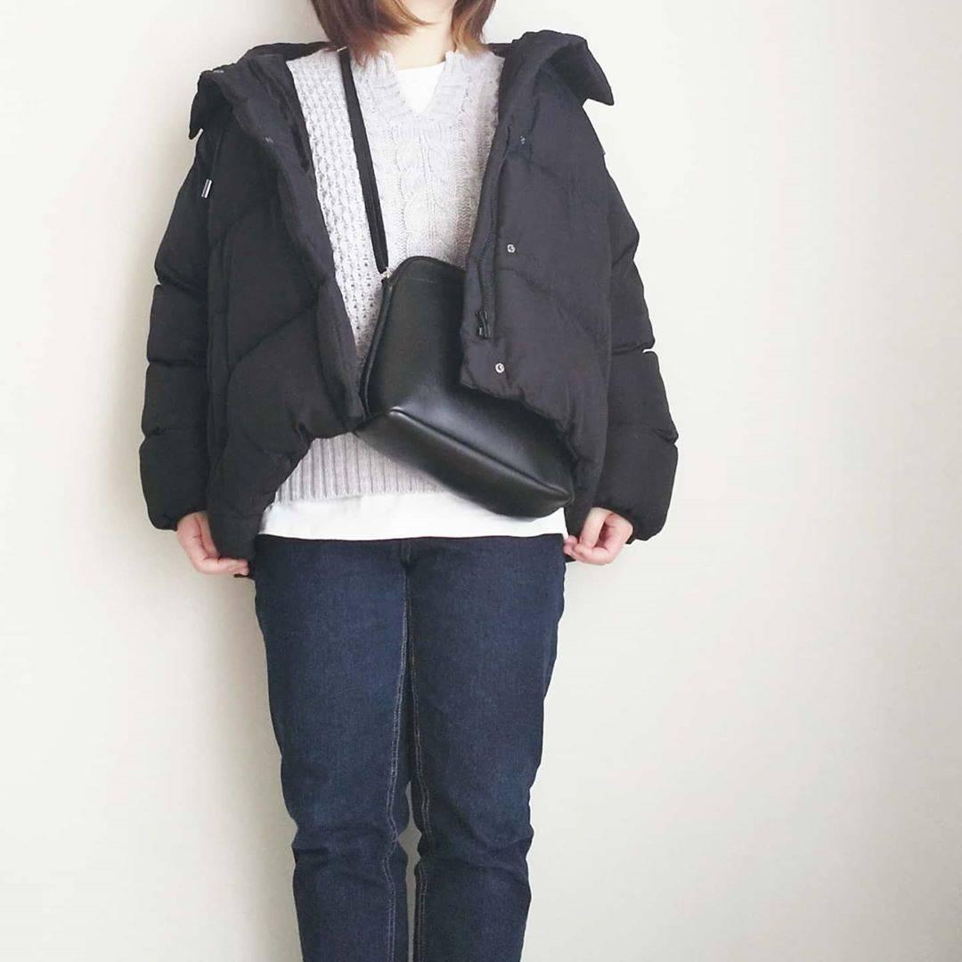 最高気温6度・最低気温-2度 yoco_145cmの服装