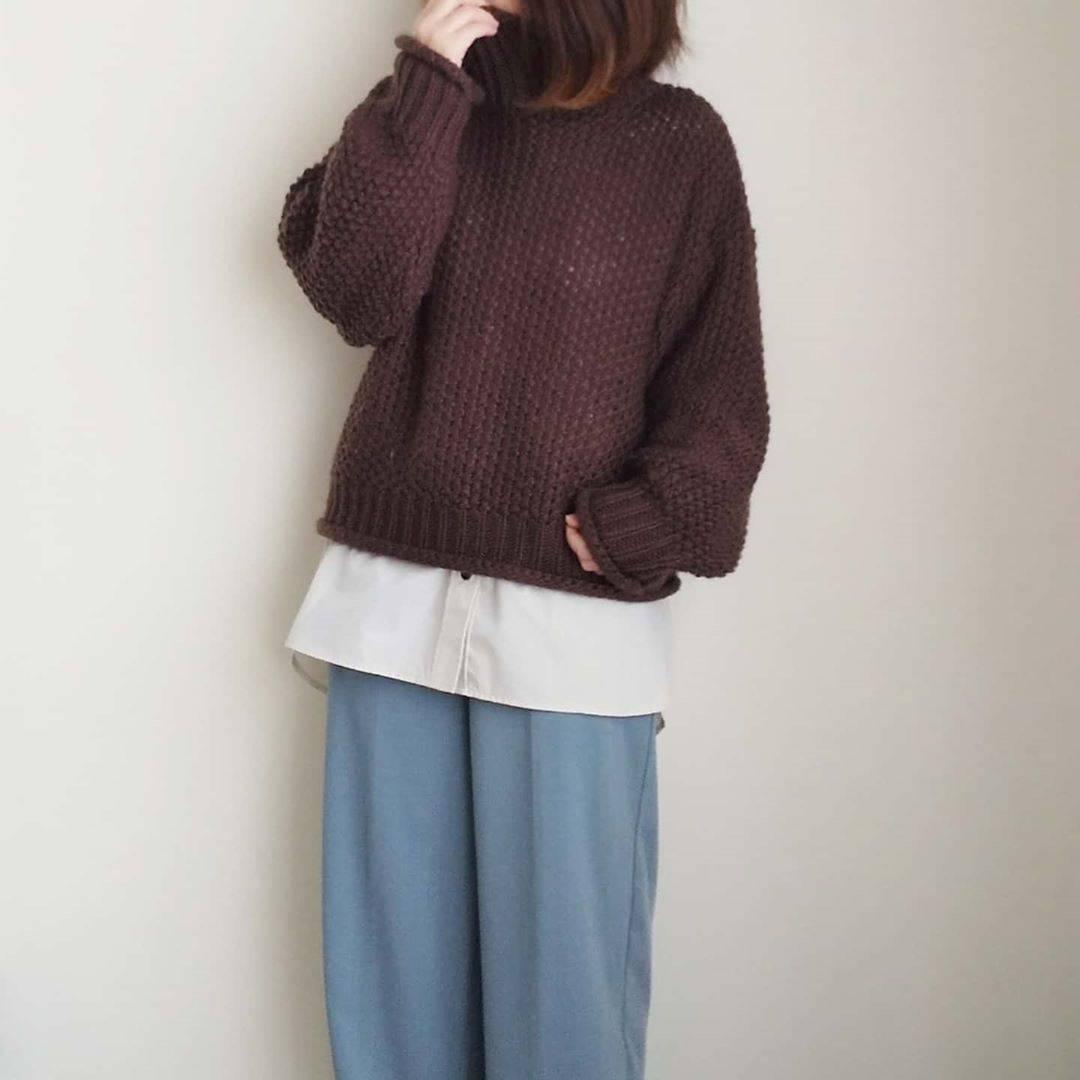 最高気温12度・最低気温0度 yoco_145cmの服装