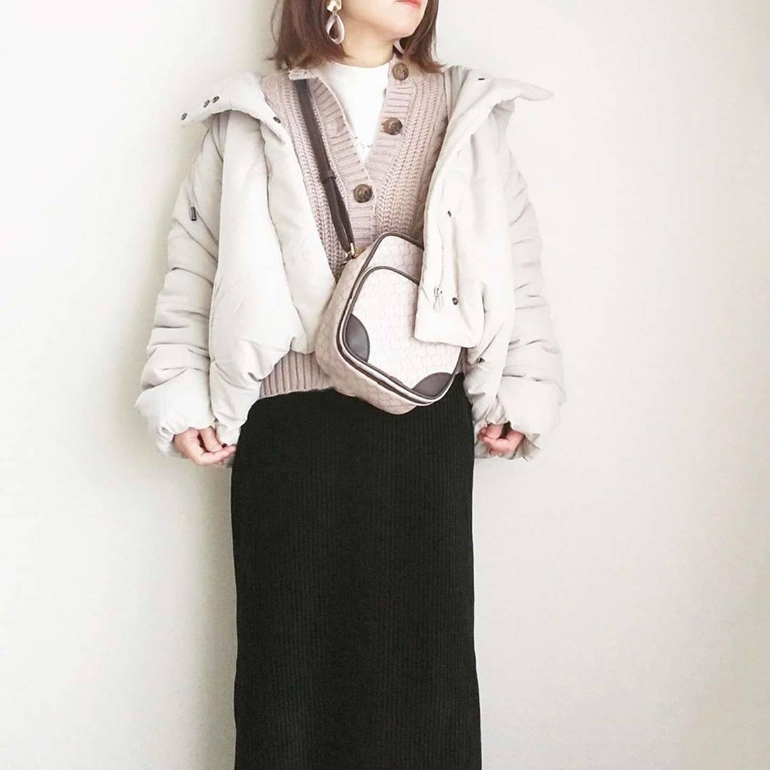 最高気温16度・最低気温7度 yoco_145cmの服装