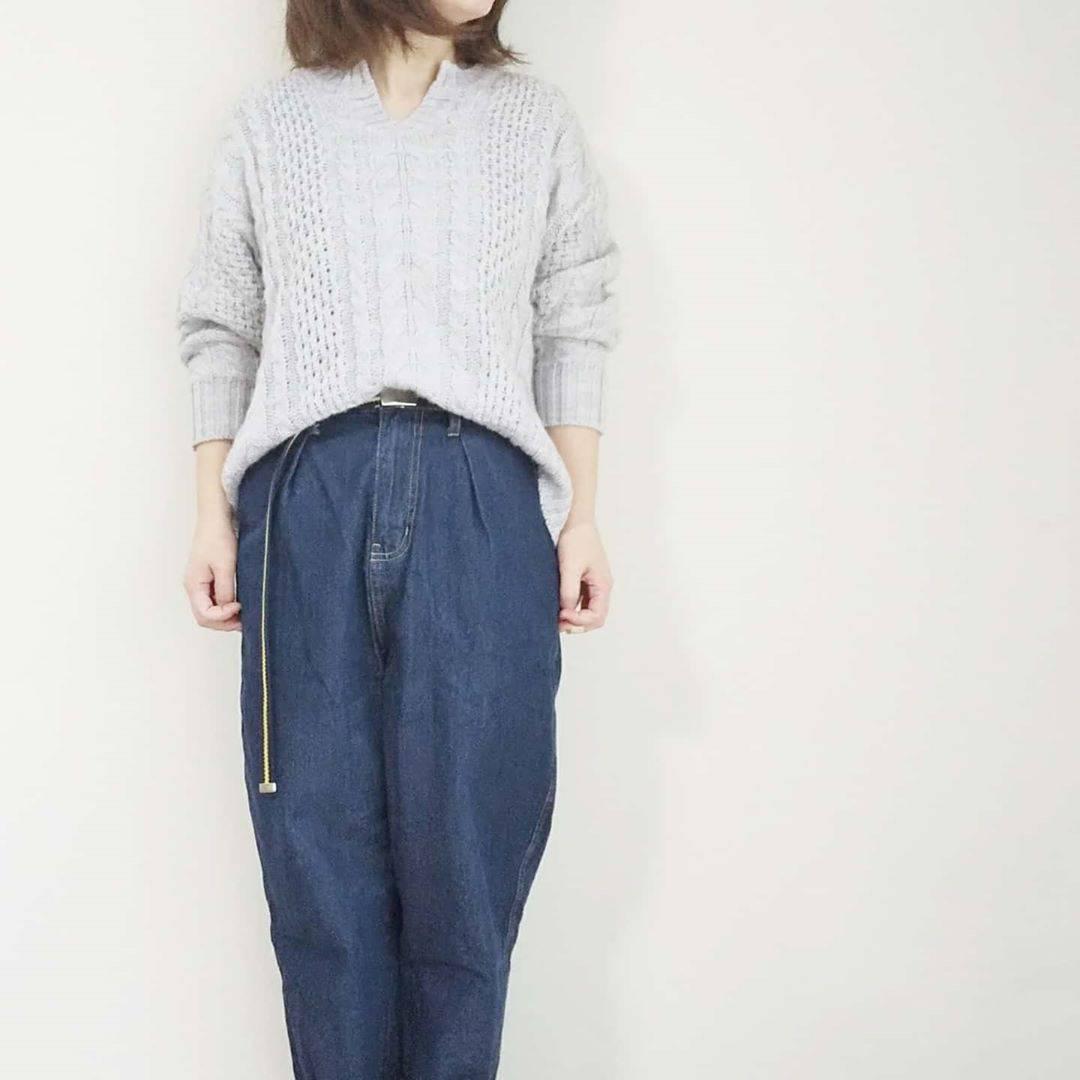 最高気温16度・最低気温5度 yoco_145cmの服装