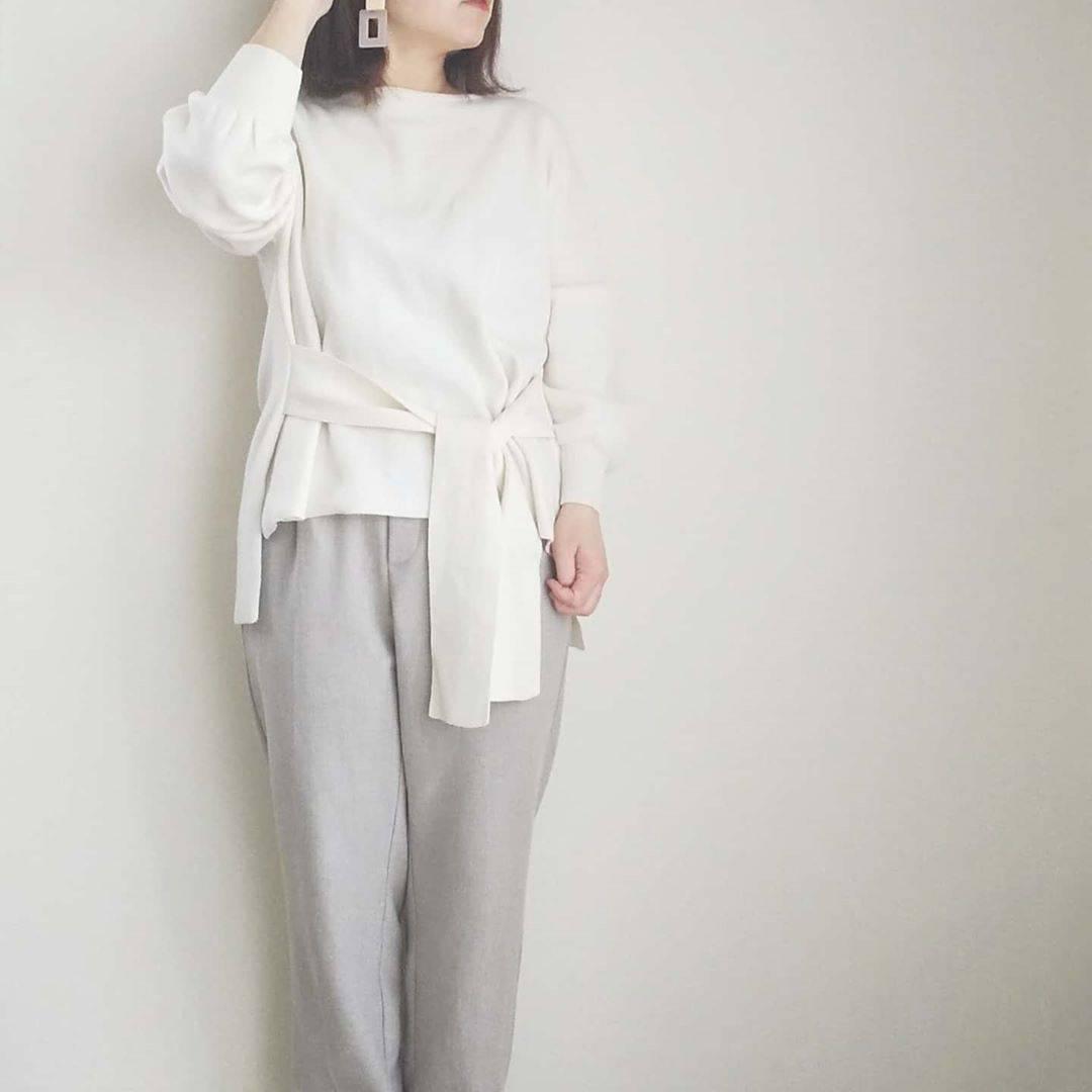 最高気温15度・最低気温4度 yoco_145cmの服装